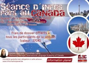 Seance infos Canada