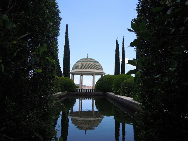 Jardin botanique à Malaga